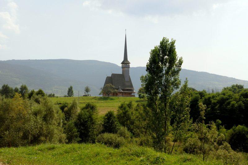Ieud, Biserica din Vale (XIX), dolina Izy (Maramuresz).