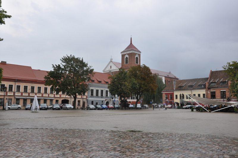Rynek i XVI-wieczny ratusz.