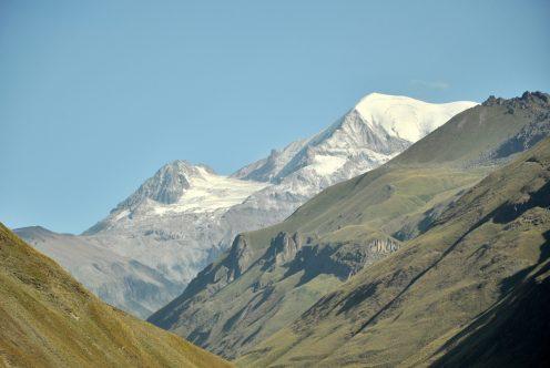 Kazbegi w Kaukazie