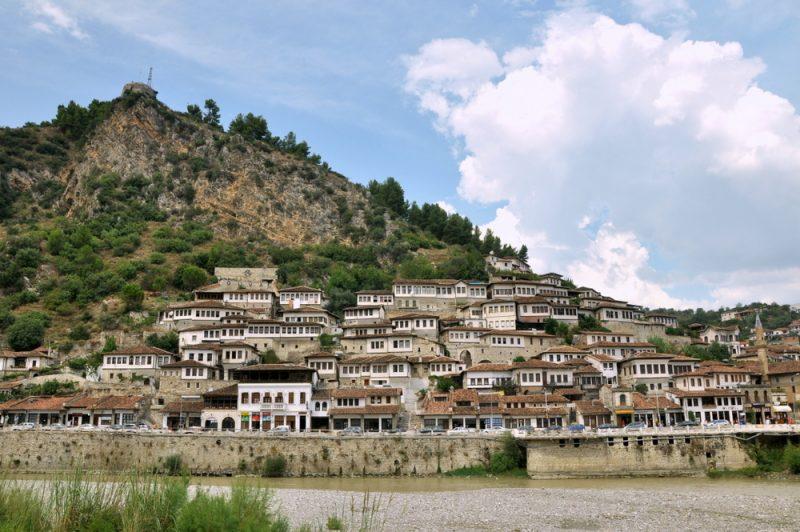 Berat - dzielnica Mangalem.