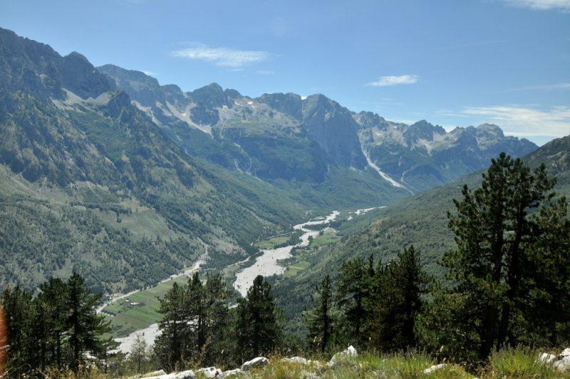 Dolina Valbony.