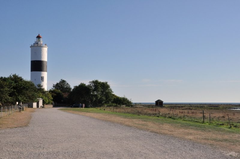 Ottenby (południowy przylądek Olandii) i latarnia Långe Jan