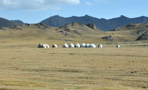 Kirgistan – góry, pustkowia, niebo nad głową