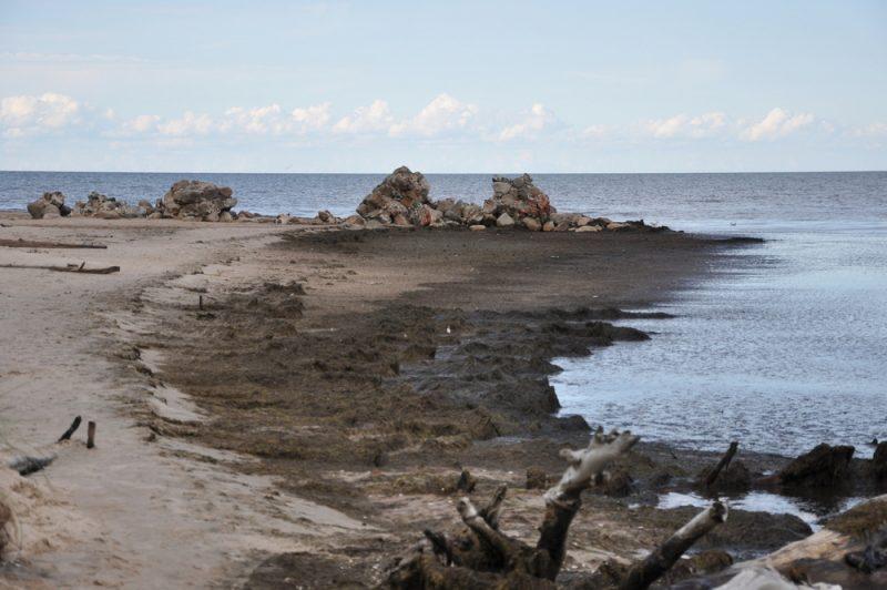 Przylądek Kolka - najbardziej wysunięty na północ punkt Łotwy.