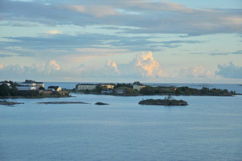 Fragment archipelagu helsińskiego.