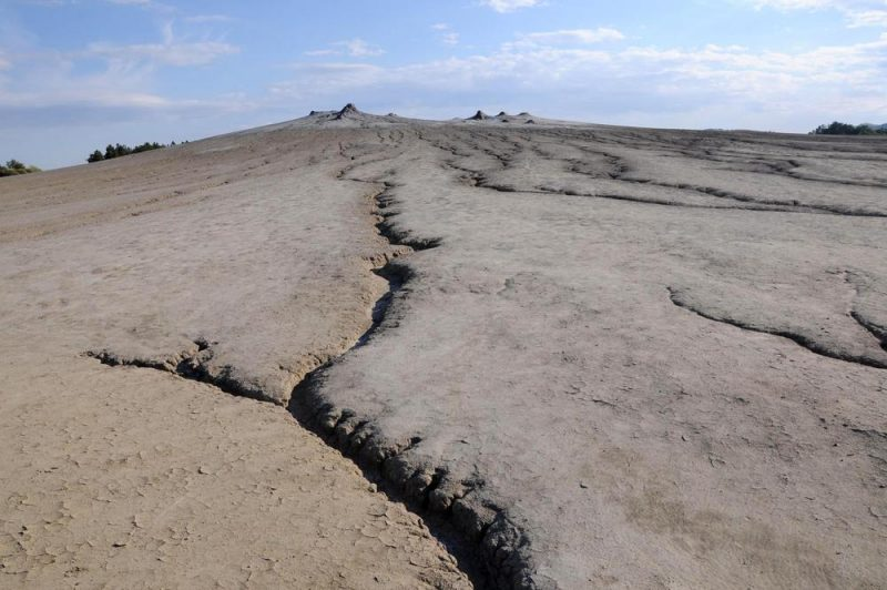 Park Narodowy Paclele Mare - wulkany błotne.